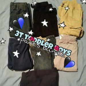 3T boys pants bundle 💙💀